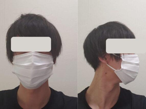 バリエールEXマスク 装着